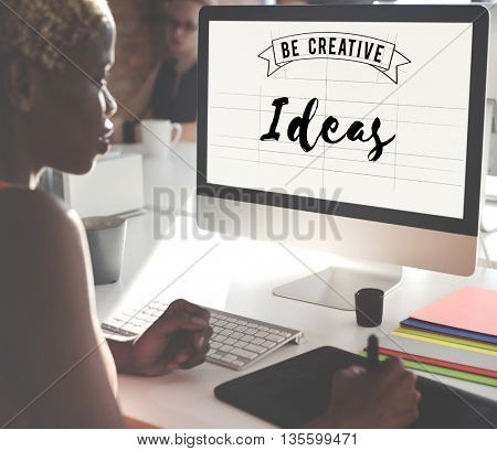 Ideas Design Objective Strategy Suggestion Concept