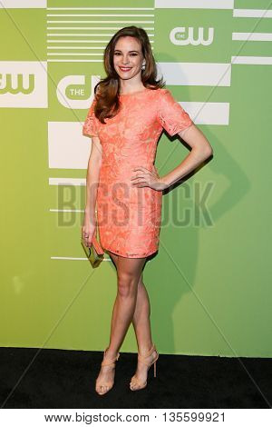 NEW YORK, NY - MAY 14: Actress Danielle Panabaker attends the 2015 CW Network Upfront Presentation at the London Hotel on May 14, 2015 in New York City.