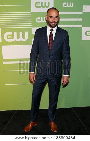 NEW YORK, NY - MAY 14: Actor Paul Blackthorne attends the 2015 CW Network Upfront Presentation at the London Hotel on May 14, 2015 in New York City.