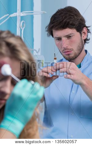 Preparing An Injection