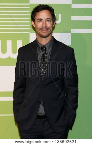 NEW YORK, NY - MAY 14: Actor Tom Cavanagh attends the 2015 CW Network Upfront Presentation at the London Hotel on May 14, 2015 in New York City.