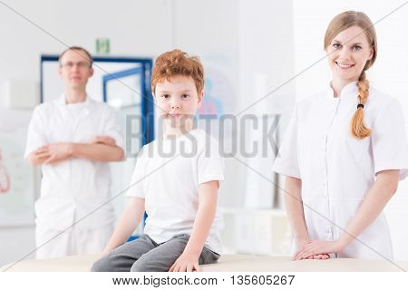 Professional Rehabilitation Of Child Patient