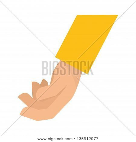 hand concept represented by gesture with fingers icon over isolated and flat background
