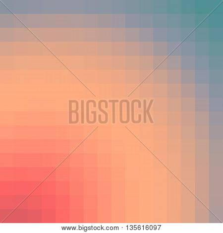 sunrise/sunset abstract vintage background - colorful smooth gradient vector illustration design polygon style