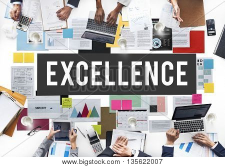 Excellence Genius Intelligence Knowledge Smart Concept