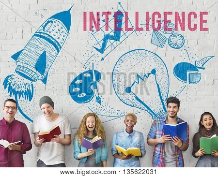 Intelligence Ideas Creativity Imagination Light Bulb Concept