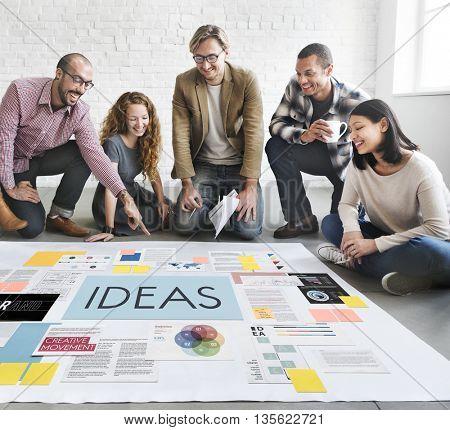 Ideas Creativity Objective Vision Concept