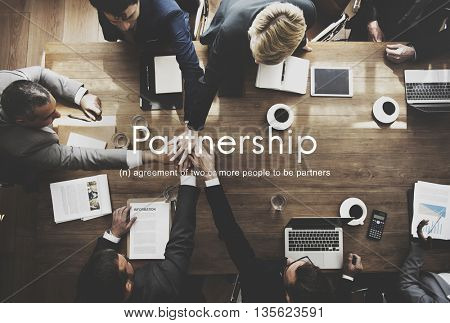 Partnership Agreement Business Collaboration Concept