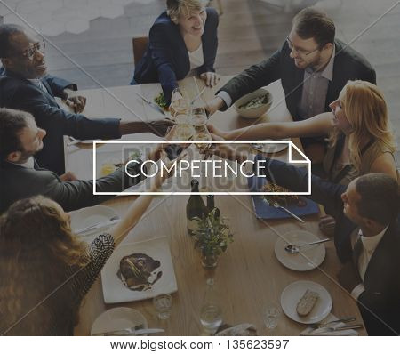 Competence Business Important Education Values Concept
