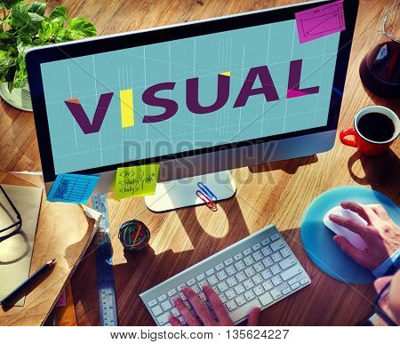 Visual Access Design Digital Image View Vision Concept