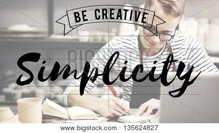 Simplicity Art Design Plan Creative Concept