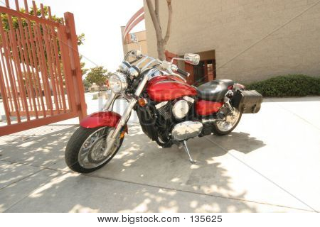 Red Motorcycle