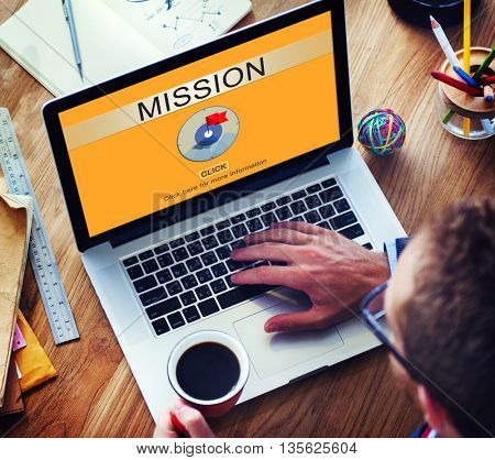 Mission Aim Goals Motivation Strategy Target Concept