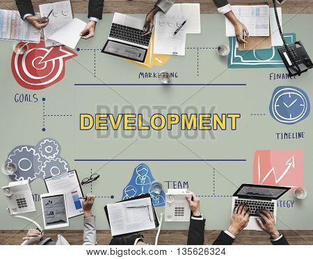 Development Change Growth Improvement Vision Concept