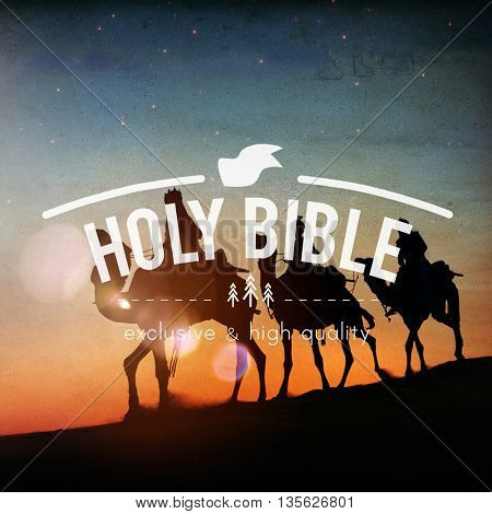Holy Bible Faith Hope Believe Spiritual Religion Concept