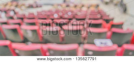 Blurred Image Of Empty Auditorium Room, Blur Background