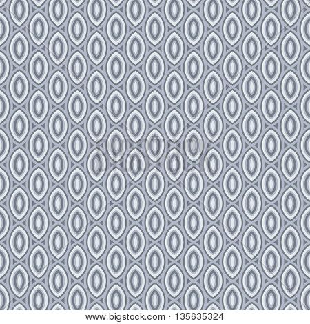 Beans pattern abstract grey background. Vector seamless pattern. Bean repeating pattern.