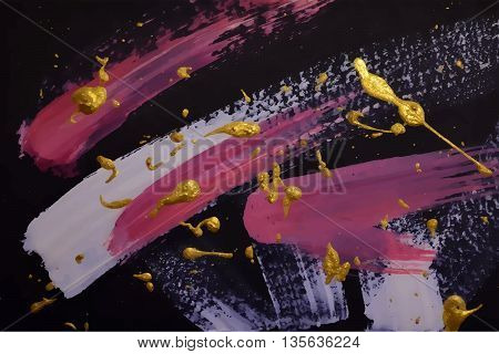 Abstract Painting Template.