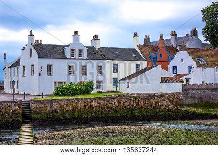 Great Britain Scotland Fife area Anstruther the fishermen village.