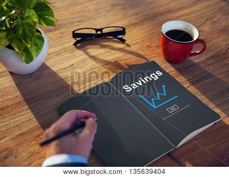 Savings Budget Assets Finance Income Money Concept