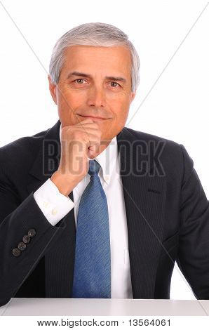 Middle Age Businessman Portrait