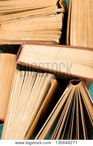 Old And Used Hardback Books Or Text Books