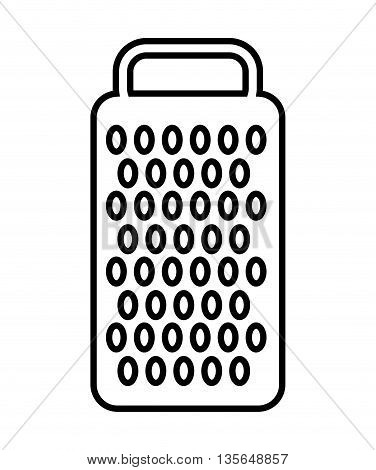 cheese grater isolated icon design, vector illustration  graphic