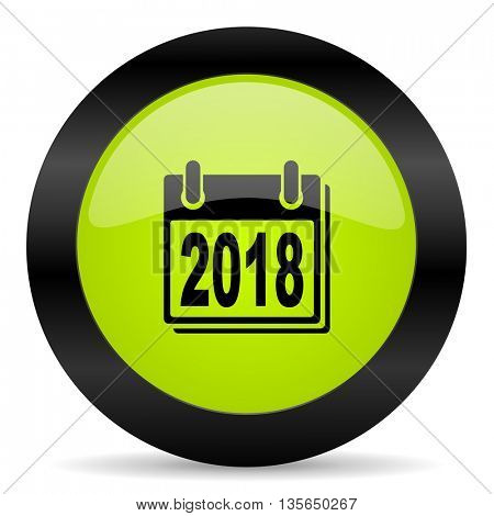 new year 2018 icon