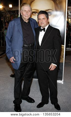Sumner Redstone and Brad Gray at the Los Angeles premiere of 'The Curious Case of Benjamin Button' held at the Mann Village Theater in Westwood, USA on December 8, 2008.