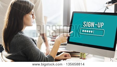 Security Sign Log In Up Password Secret Concept