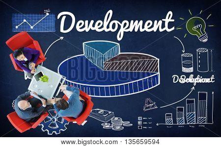 Development Improvement Vision Innovation Growth Concept