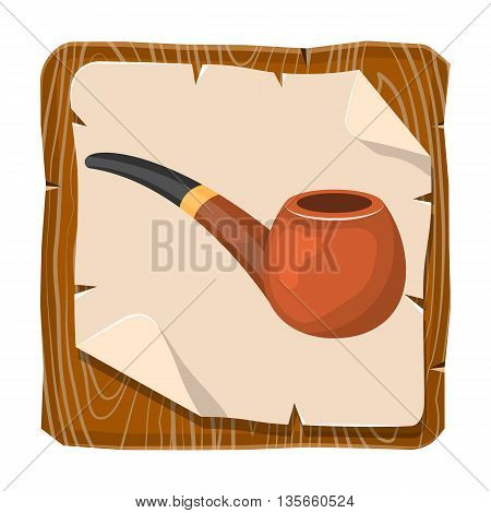 Pipe Tobacco Colorful Icon