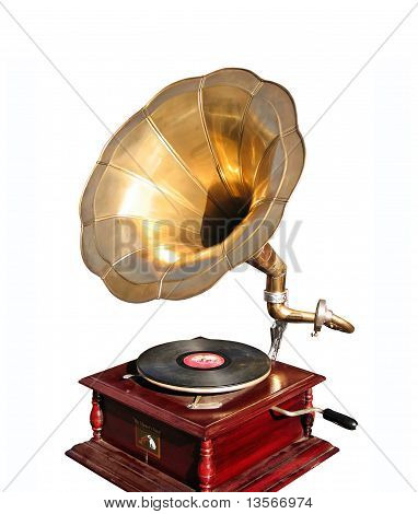 Antiquarian Record Player