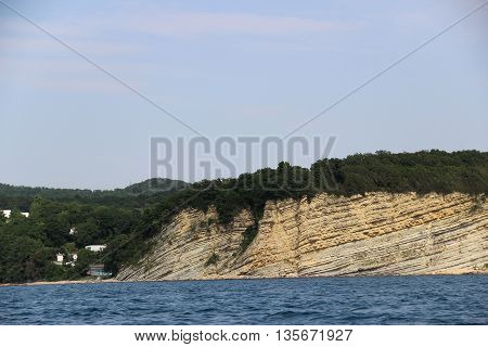 Rocky Mountains on the Black Sea coast