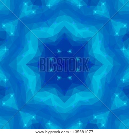 Abstract Low Poly Pattern, Colorful Background for Design. Vector