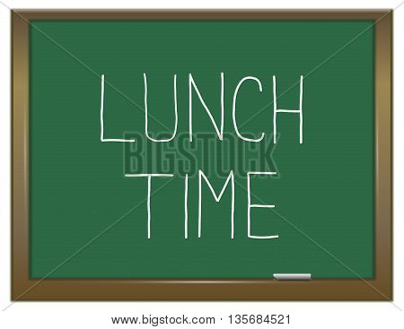 Lunch Time Concept.