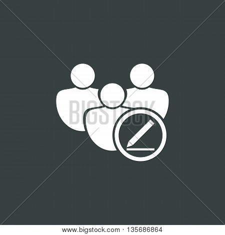 User Modify Icon In Vector Format. Premium Quality User Modify Symbol. Web Graphic User Modify Sign