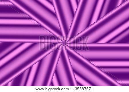 Illustration of a pink and purple star pattern