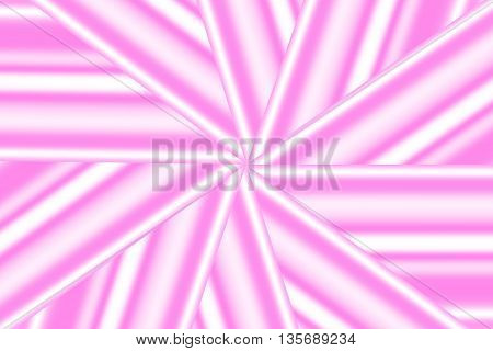 Illustration of a pink and white star pattern