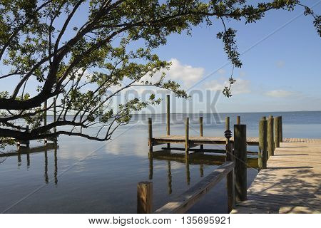 Key Largo,Florida near where some scenes for the movie Key Largo were filmed.