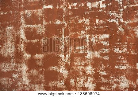 Wall abstract background texture in brown colors