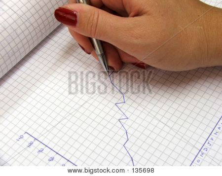 Stationary-drawing A Graph