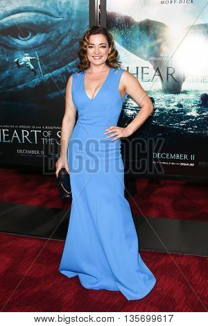 NEW YORK-DEC 7: Actress Laura Michelle Kelly attends the New York premiere of