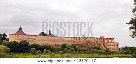 Mediaval fortress in Medzhibozh - ukrainian place of glory