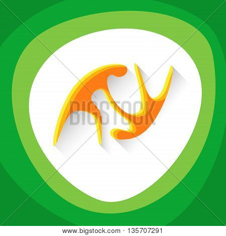 Judo Sport Game Logo Competition Icon Vector Illustration