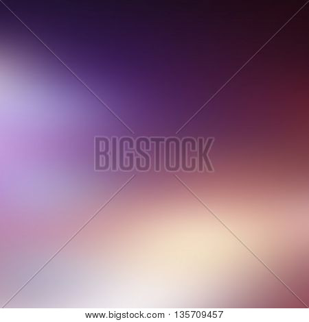 vector purple abstract background with blurred shapes and spots