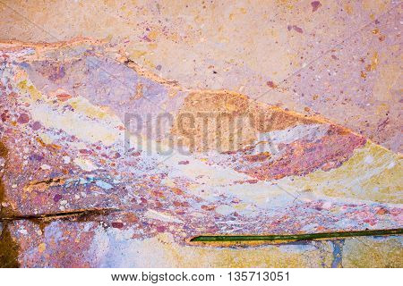 Paint Grunge Background And Abstract Texture