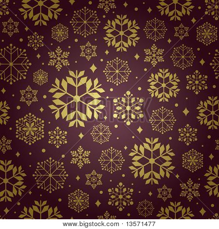 christmas pattern snowflake background