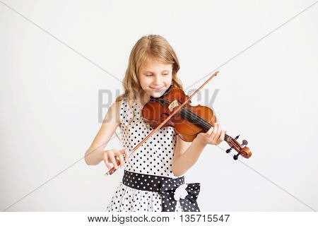 Portrait Of The Little Violinist
