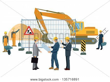 road project, work plan, architect, engineering  technology